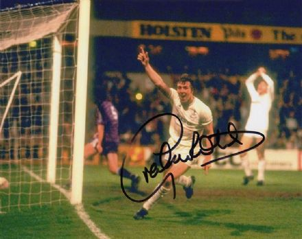 Graham Roberts, Tottenham Hotspur, signed 10x8 inch photo.